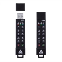 Apricorn Aegis Secure Key 3XN - USB flash drive - encrypted - 64 GB - USB 3.1 Gen 1 - FIPS 140-2 Level 3