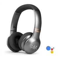 JBL Everest 310GA - Headphones with mic - on-ear - Bluetooth - wireless - gunmetal
