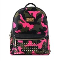 Sandy Lisa Soho Mini - Laptop carrying backpack - 10-inch - camo