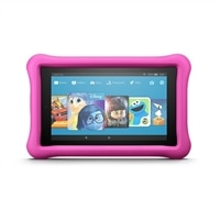 "Amazon Kindle Fire 7 Kids Edition Tablet 7"" Display -16 GB - Kid-Proof Case - Pink"