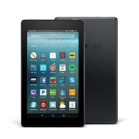 """Amazon Fire 7 Tablet with Alexa, 7"""" Display - 8 GB - Black - with Special Offers"""