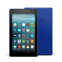 """Amazon Fire 7 Tablet with Alexa, 7"""" Display - 8 GB - Marine Blue - with Special Offers"""