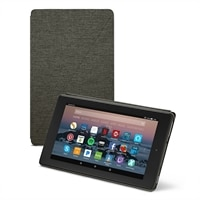 Amazon Flip cover for Fire 7 tablet  (7th Generation) - Charcoal Black