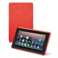 Amazon Flip cover for Fire 7 tablet (7th Generation) - Punch Red