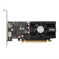 MSI GT 1030 2G LP OC Graphic Card 2 GB GDDR5 PCIe 3.0 x16 Low Profile HDMI, DisplayPort