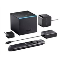 Amazon Fire TV Cube - Digital multimedia receiver - 4K - HDR - 16 GB - with Alexa Voice Remote