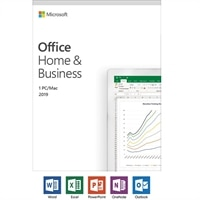 Microsoft Office Home and Business 2019 | 1 device, Windows 10 PC/Mac - Box