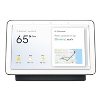 Google Home Hub - Smart home control system - wireless - 802.11b/g/n/ac - Charcoal