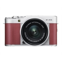 Fujifilm X Series X-A5 - Digital camera - mirrorless - 24.2 MP - APS-C - 4K / 15 fps - 3x optical zoom - Fujinon XC 15-45mm OIS PZ lens - Wi-Fi, Bluetooth - pink