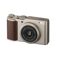 Fujifilm X Series XF10 - Digital camera - compact - 24.0 MP - APS-C - 4K / 15 fps - Wi-Fi, Bluetooth - champagne gold