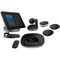 Logitech Smartdock Group Solution With Flex For Large Room Package For Skype Room