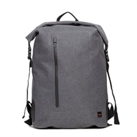 """Knomo Cromwell Roll-Top Laptop Backpack 15"""" - Grey"""