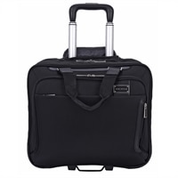 Tech Exec Rolling Case Fits up to 15.6in + Ipad/Tablet Pocket