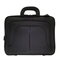 ECO STYLE Tech Pro TopLoad Laptop Carrying Case - 16.1-inch - Black, Blue