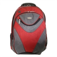 ECO STYLE Sports Voyage Backpack - Laptop carrying backpack - 16.1-inch - red