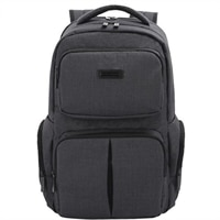"Deluxe Backpack Checkpoint Friendly 15.6"" - Dark Gray"