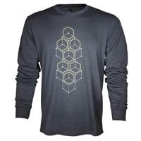 Alienware Dot Hex Long sleeve t-shirt - Large