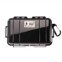 Pelican Micro Case 1050 - Case - stainless steel, polycarbonate - black