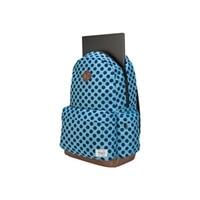 "Targus Strata - Notebook carrying backpack - 15.6"" - aqua, blue dots"