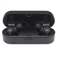 Audio-Technica ATH CKR7TW - True wireless earphones with mic - in-ear - Bluetooth - black