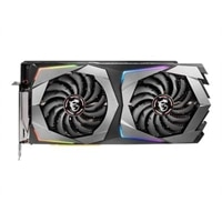 MSI RTX 2070 GAMING X 8G - Graphics card - GF RTX 2070 - 8 GB GDDR6 - PCIe 3.0 x16 - HDMI, 3 x DisplayPort, USB-C - black, gunmetal gray