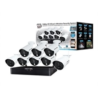 Night Owl HC20X-81-6L-2 - DVR + camera(s) - wireless, wired - WiFi - 12 channels - 1 x 1 TB - 8 camera(s)