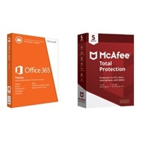 Download McAfee Total Protection and Microsoft Office 365 Home 5 Devices 1YR Subscription