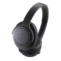 Audio-Technica ATH SR30BT - Headphones with mic - full size - Bluetooth - wireless - 3.5 mm jack - charcoal gray