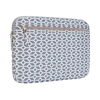 Targus - Arts Edition - Laptop sleeve - 15.6-inch - Gray, White, Geometric
