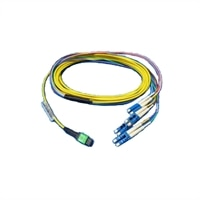 Dell Networking, cable, SMF MPO a 4xLC Breakout cable, 5 m, Customer kit
