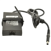 Adaptador de CA de 130 vatios y 3 clavijas de Dell con cable de alimentación de 6pies