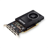 NVIDIA Quadro P2200, 5GB, 4 DP (Precision 3630, 3930, xx20)