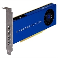 AMD Radeon Pro WX3200 4 GB, altura completa