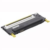 Cartucho de tóner amarillo de 1000páginas para la impresora láser color Dell1230c