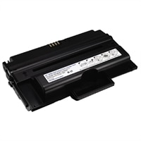 Cartucho de tóner negro de 10,000 páginas para impresoras láser Dell 2355dn