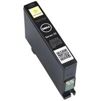 Cartucho de tinta amarilla de un solo uso de capacidad extra (serie 33) para la impresora todo en uno Dell V525w/V725w
