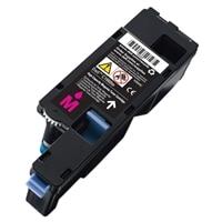 Cartucho de tóner magenta para la impresión de hasta 1,000 páginas para la impresora láser color C1660w de Dell