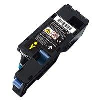 Cartucho de tóner amarillo para la impresión de hasta 1,000 páginas para la impresora láser color C1660w de Dell