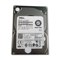 Unidad de conexión en marcha Dell SAS de 600GB a 10000RPM, 2,5in, portador híbrido de 3,5in