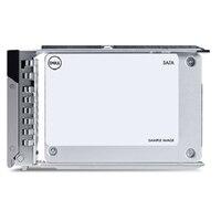 """Dell 3.84TB SSD SATA Lectura Intensiva 12Gbps 512e 2.5"""" Unidad PM5-R"""