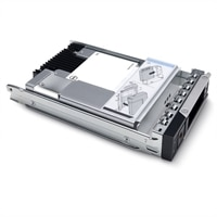 """Dell 3.84TB SSD SAS Uso Mixto 12Gbps 512e 2.5"""" De Conexión En Marcha Unidad 3.5"""" Portadora Híbrida ,PM5-V"""