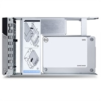 "Dell 960GB SSD SATA Uso Mixto 6Gbps 512e 2.5"" Unidad en 3.5"" Portadora Híbrida S4610"