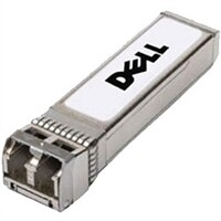 Dell Networking, Transceptor, SFP+, 10GbE, ZR, 1550nanómetro, Single Mode Fibre, LC