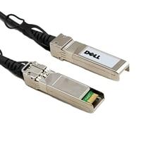 Cable de red Dell, QSFP+ a QSFP+, 40GbE Cable de conexión directa de cobre pasivo, 2 Metros, kit del cliente