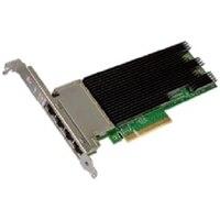 Intel X710 cuatro puertos 10GbE, Base-T, PCIe adaptador, altura completa, Customer Install
