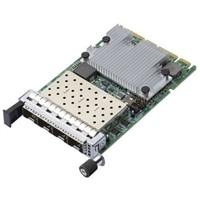 Broadcom 57504 Quad-port 25GbE Blade, Mezzanine Card Customer Kit