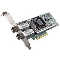 Adaptador de red de perfil bajo QLogic 57810 de doble puerto de 10 Gb Direct Attach / SFP +, kit para el cliente