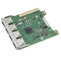 Dell Intel I350 Cuatro puertos 1 Gigabit KR Blade Tarjeta de la hija de la red