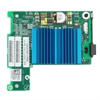 Tarjeta intermedia de Dual puertos de E/S de8 Gb/s Fibre Channel Emulex LPE1205-M para blades serie M, instalación del cliente