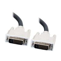 C2G - Cable DVI - enlace doble - DVI-D (M) - DVI-D (M) - 5 m